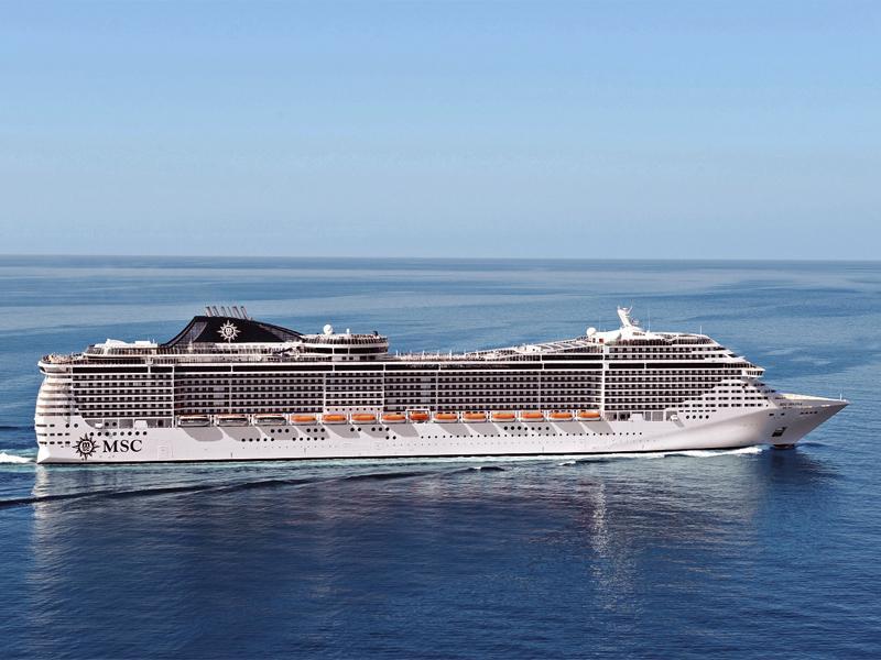 Cruise Control: MSC Splendida