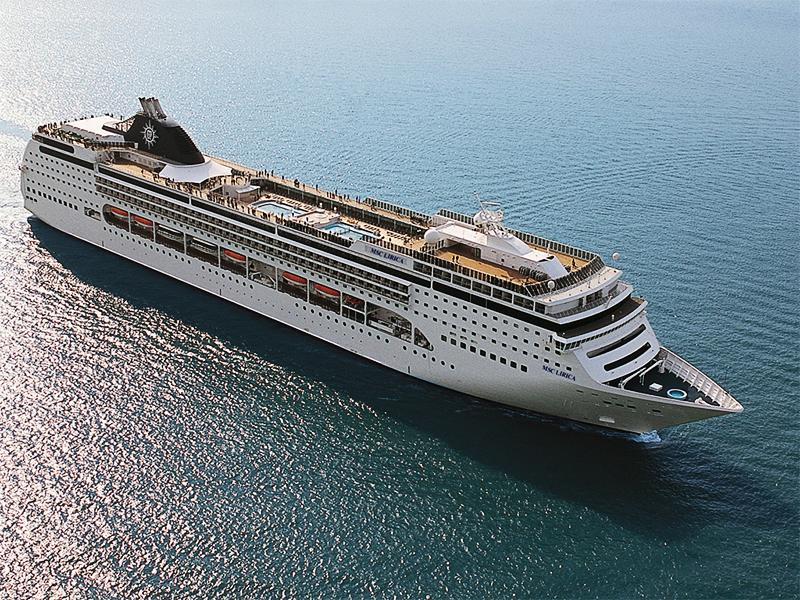Cruise Control Msc Splendida