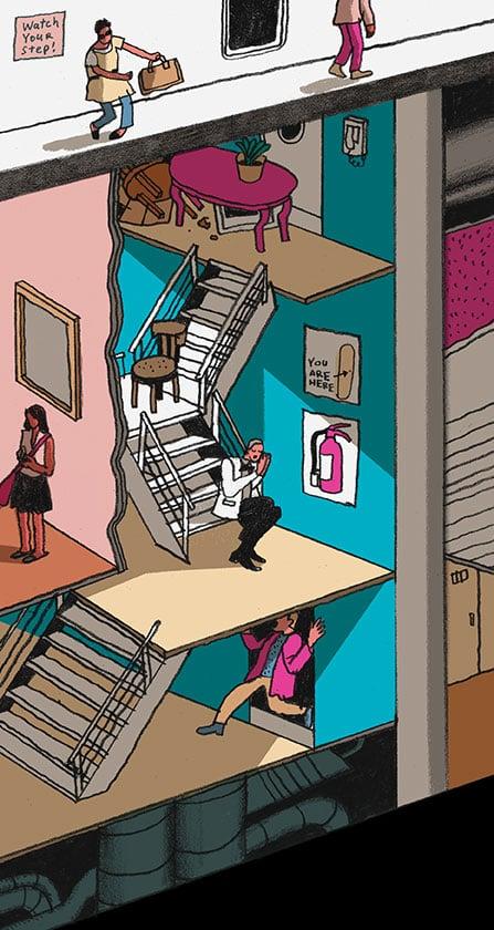 Stairwell 924dc8934452ced88fe297edc88c36e7395919339b014c134f0eb64ab3552840